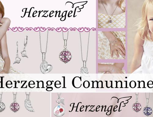 Un regalo para niña de Primera Comunión en plata de ley: Herzengel