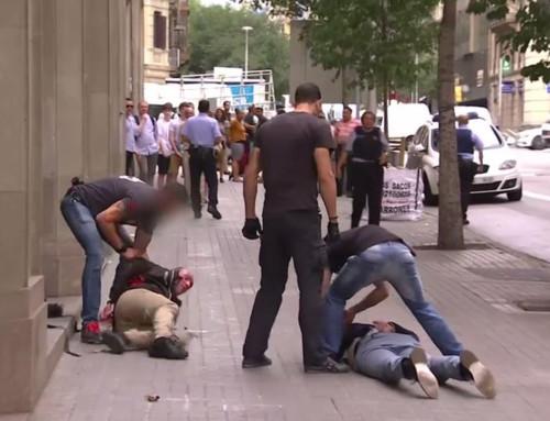 Identifican a dos Pink Panther presuntos ladrones de joyería en Barcelona