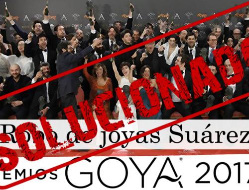 Detenido el ladrón de los Goya 2017