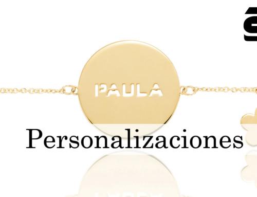 Personalizaciones: la nueva colección de Sotoca en oro de 1ª Ley